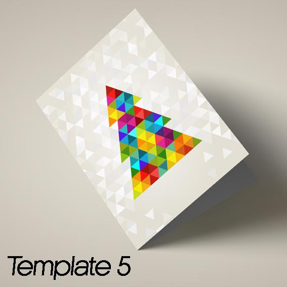 Xmas cards template 5