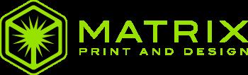 Matrix Print and Design Logo