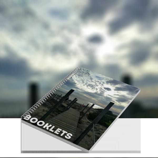A4 portrait wiro bound booklets