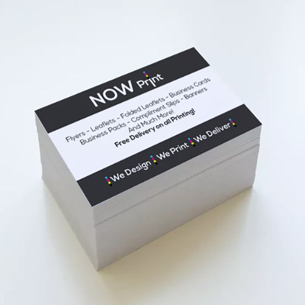 Now print standard business cards