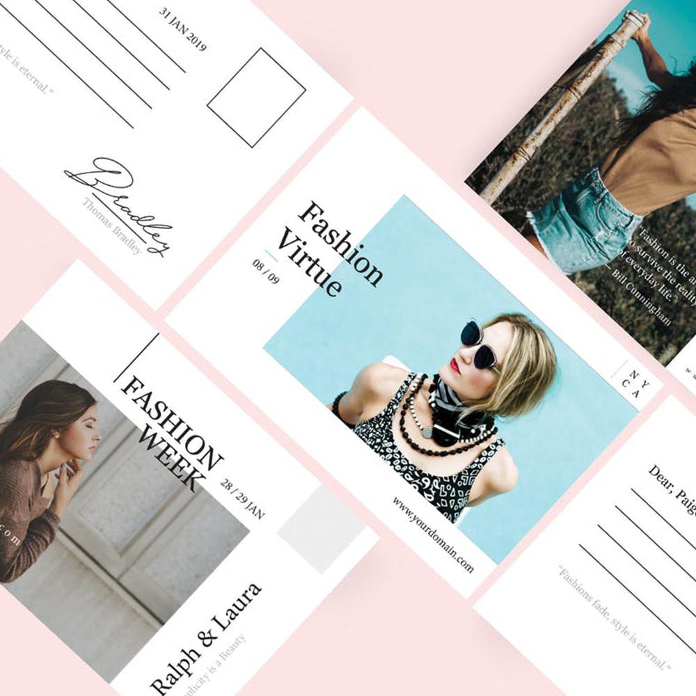 Fashion Week Postcard