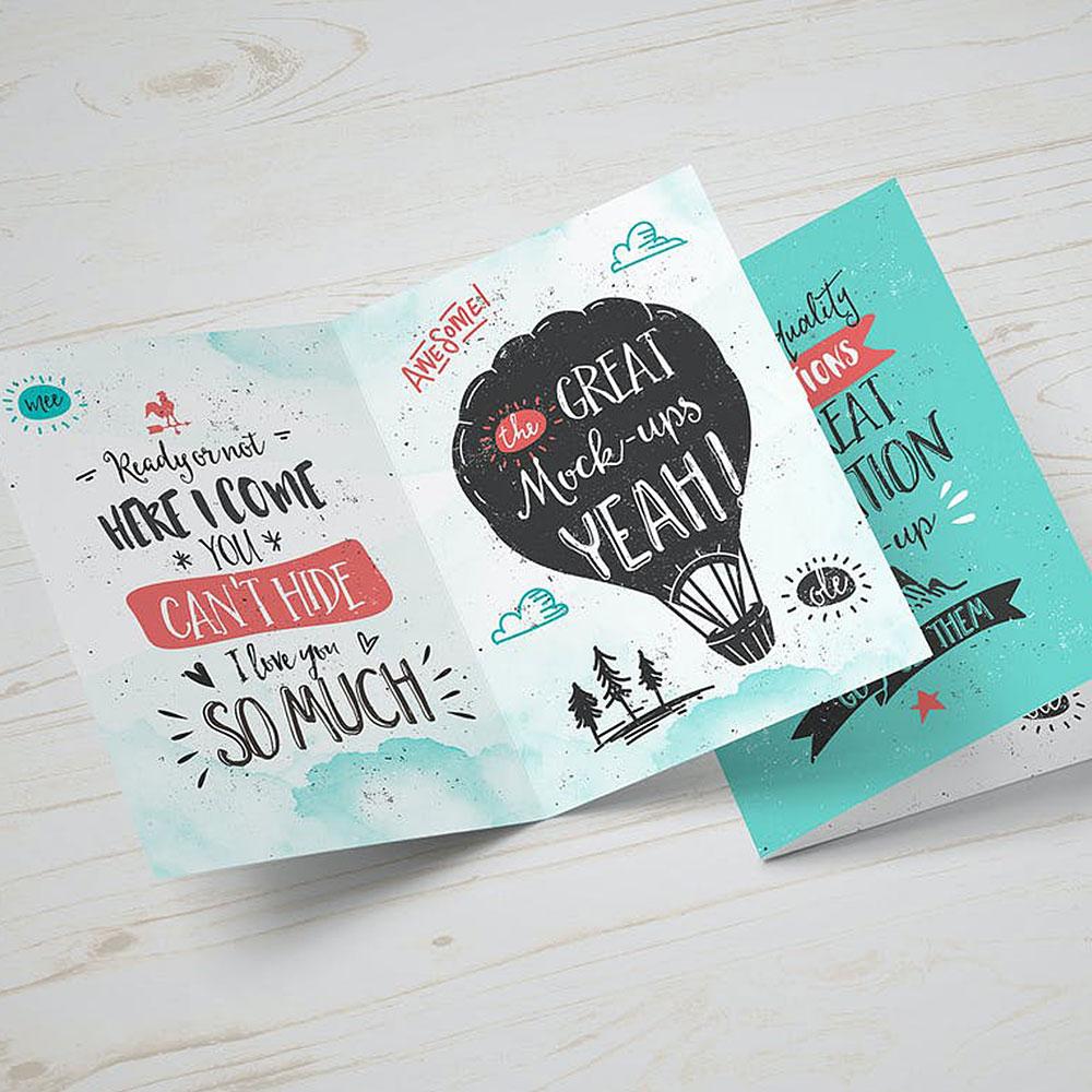 Greeting Cards Single