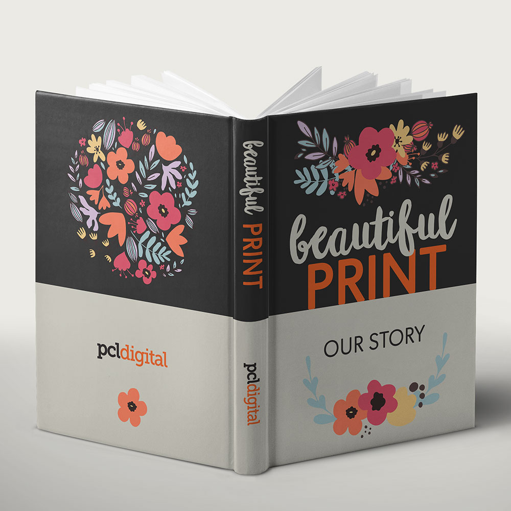 Casebound Book | Beautiful Print. Our Story. PCL Digital
