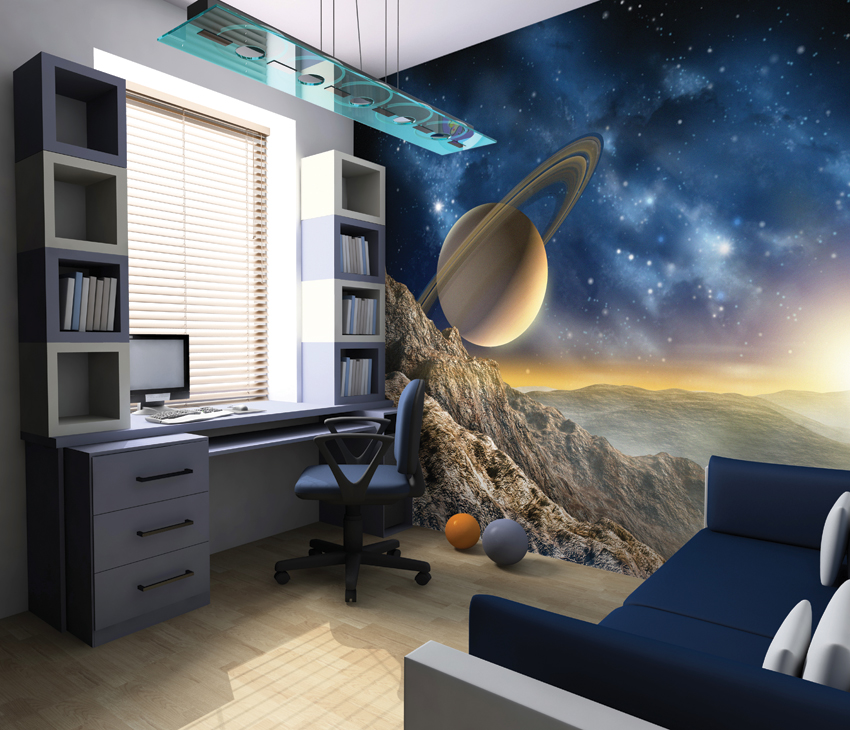 Galaxy Stars Wallpaper Mural