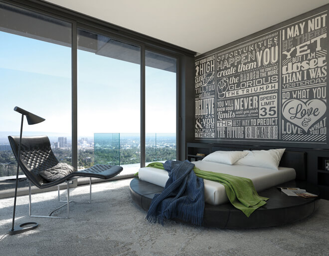 Chalk Quotes Wallpaper Mural