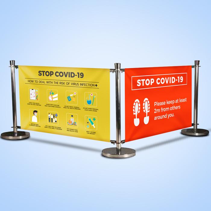 Banner Barrier Systems - Queue Management