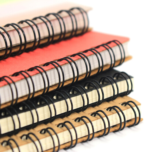 Wire Bound Book