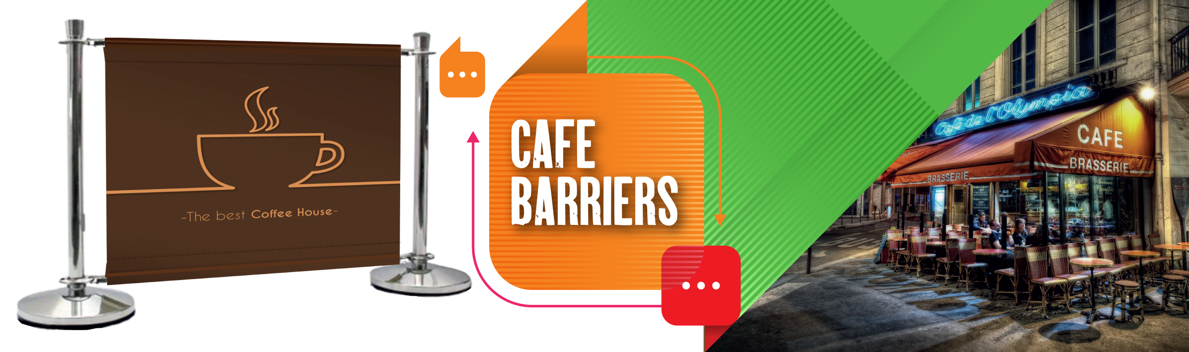 Queue Barriers Product Slider