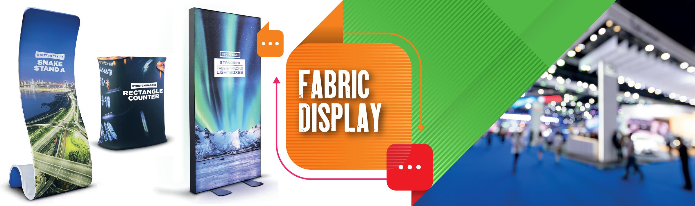 Fabric Display Product Slider 2021