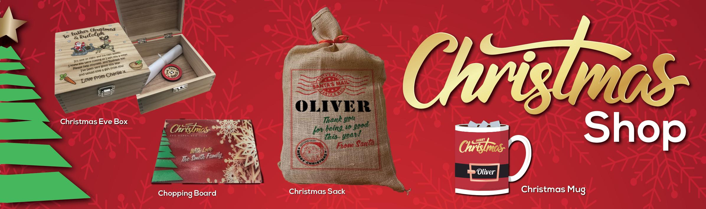 Christmas Shop Product Slider 2021