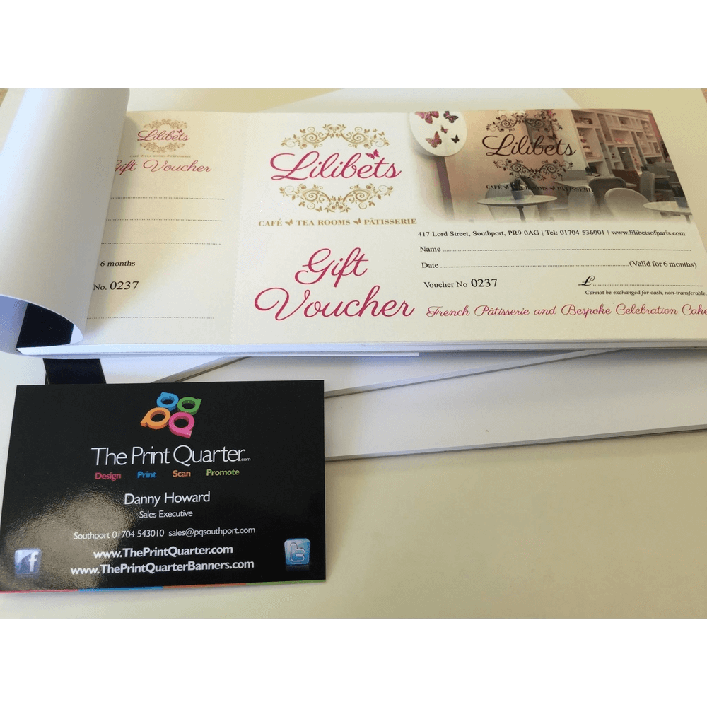 Cafe Gift Vouchers