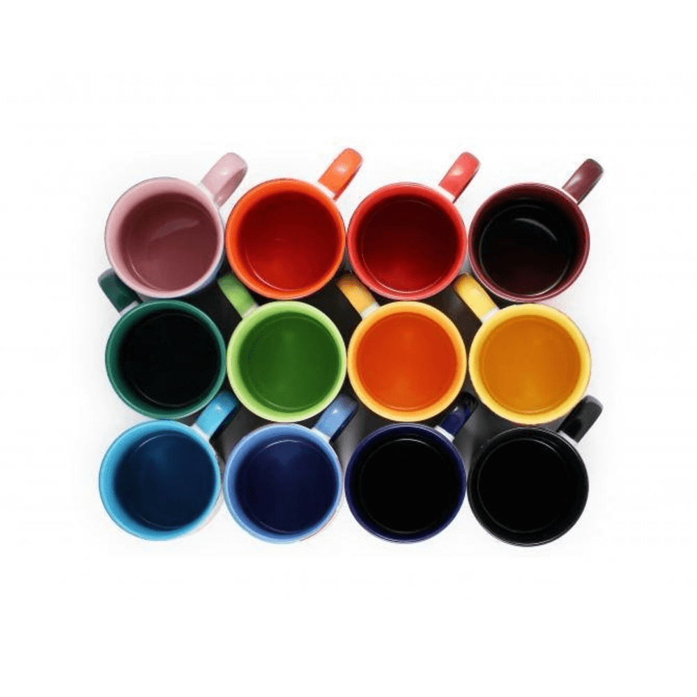 Coloured Mug Insides And Handles