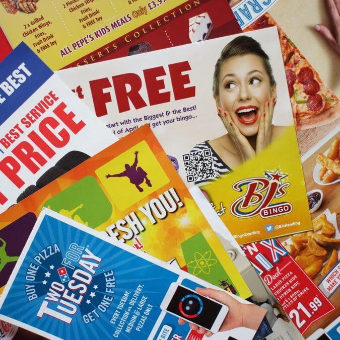 Flyers & Leaflets Print & Design