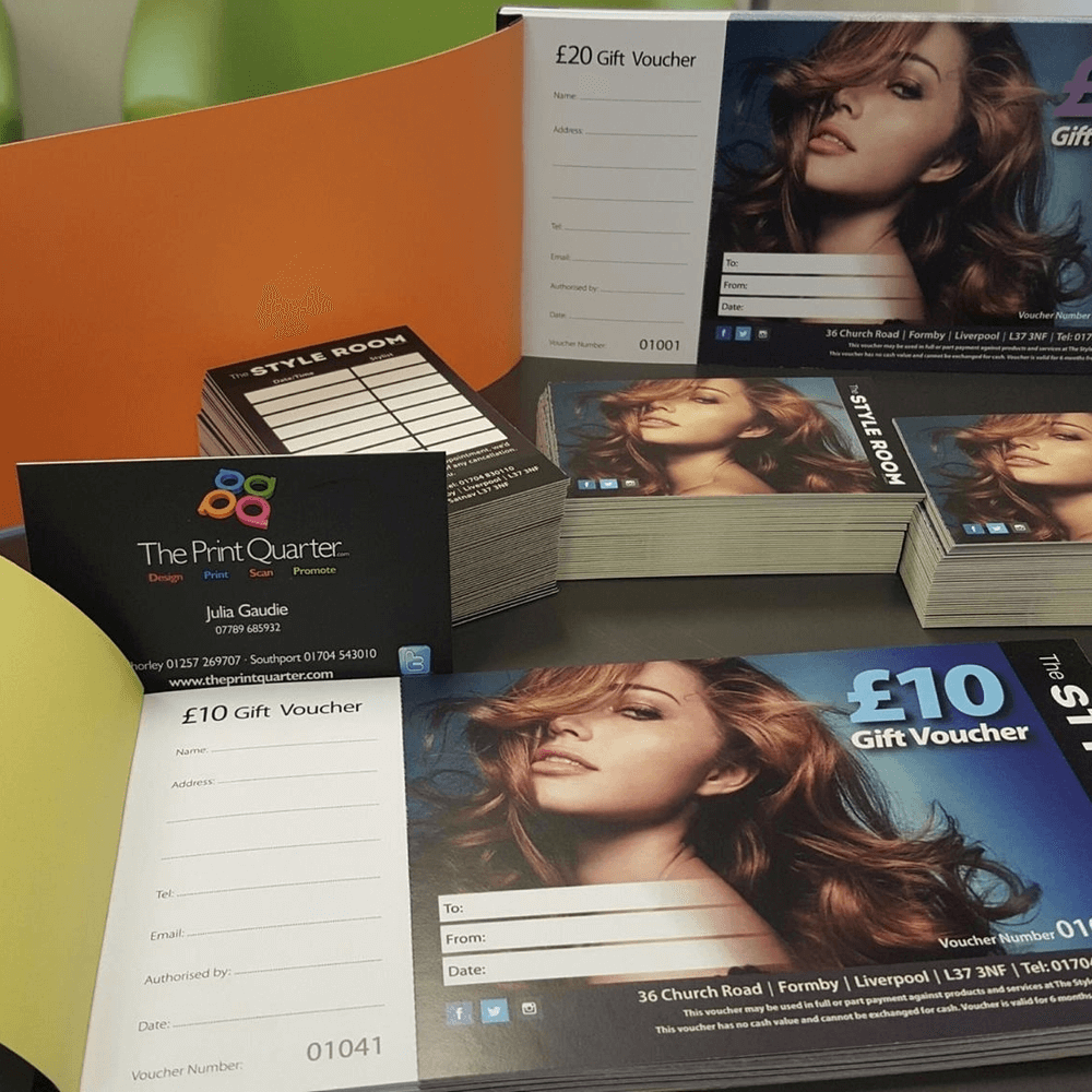 Hair And Beauty Gift Vouchers