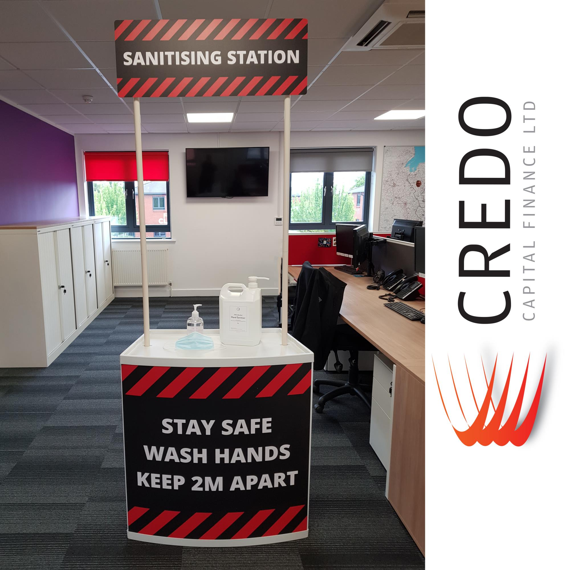 Credo Capital Finance - Keeping Safe!