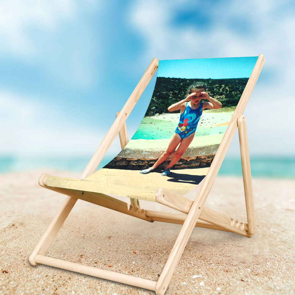 Deckchair with personal image