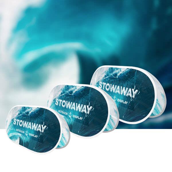 Stowaway with white hems