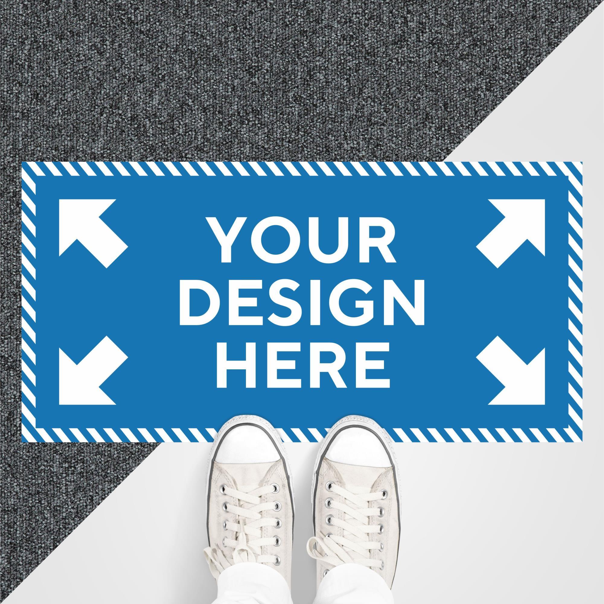 Custom Floor Graphic Rectangle