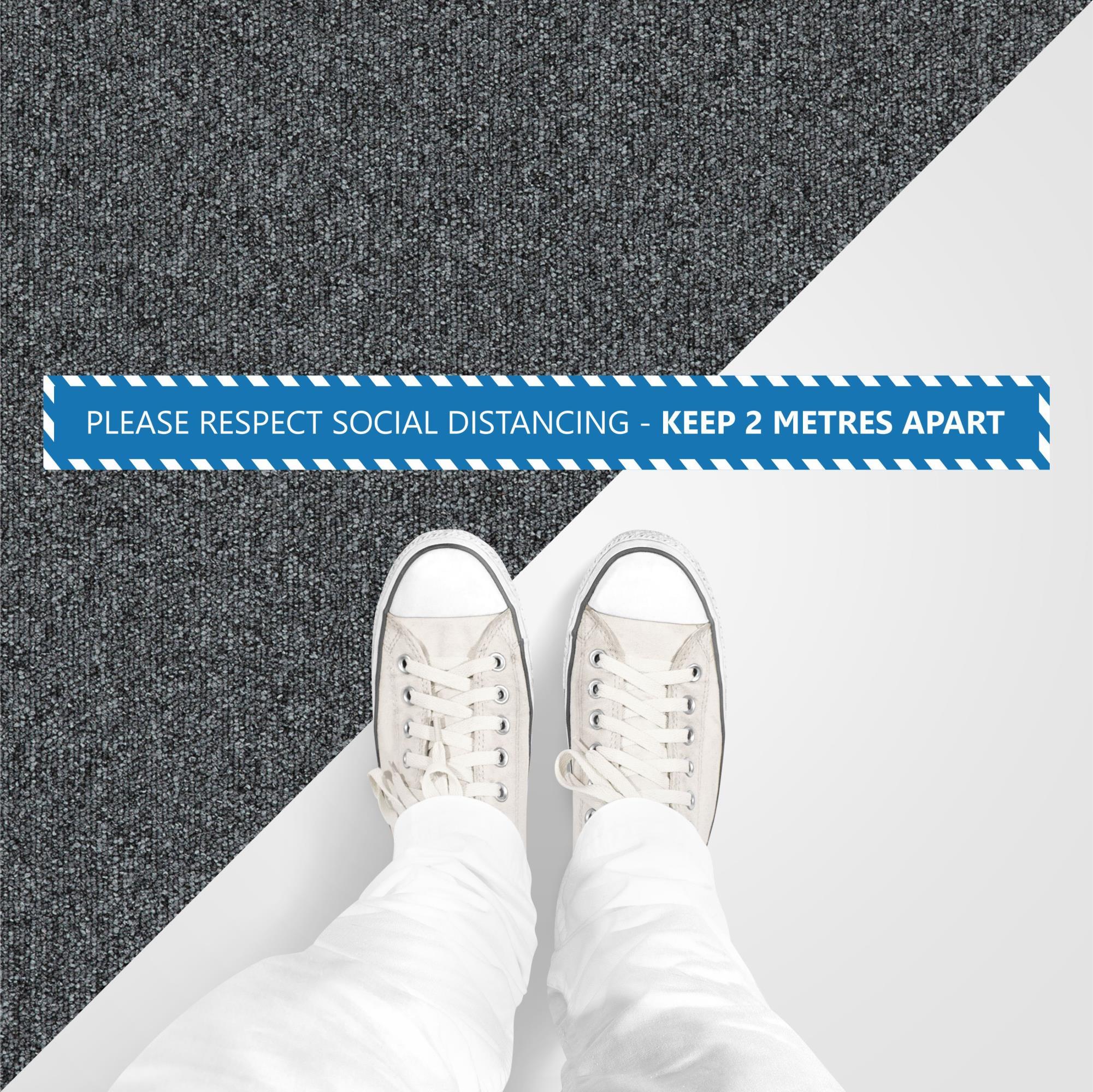 Strip Floor Sticker Internal Carpet