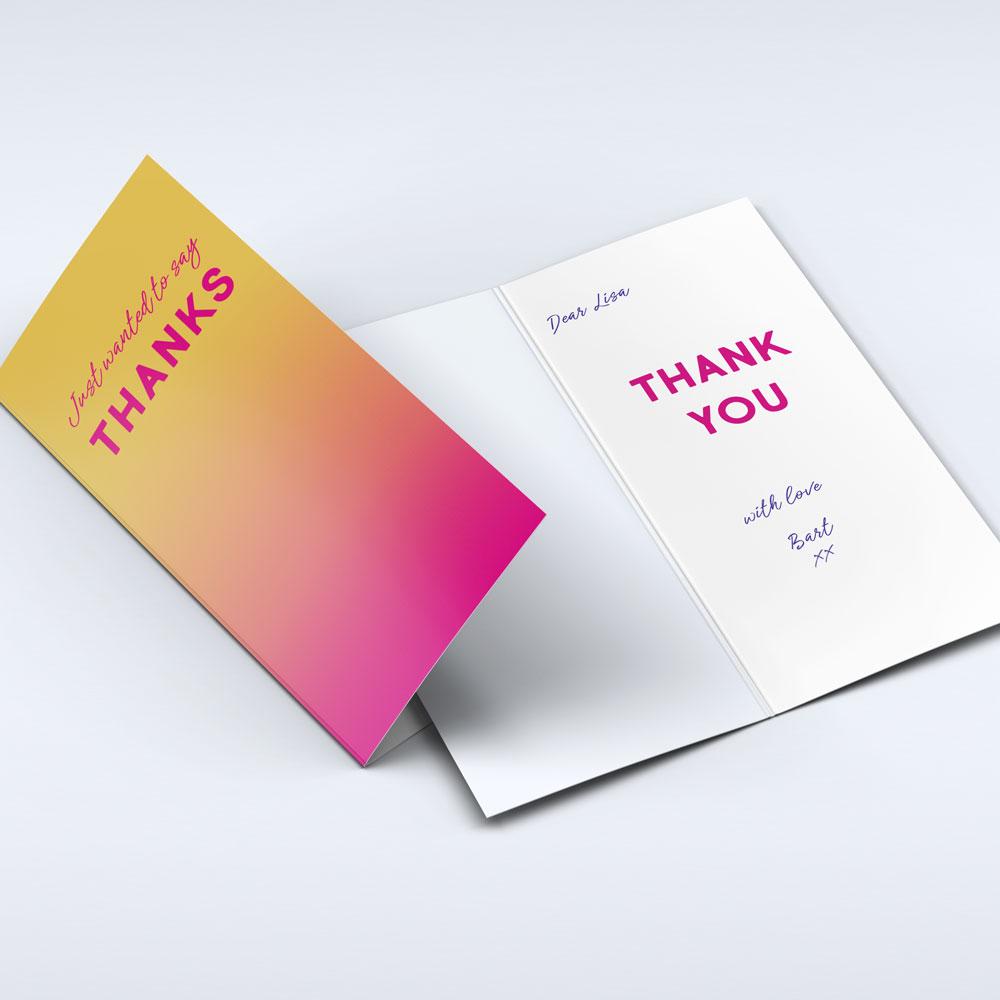 Greeting Card Dl Long Edge