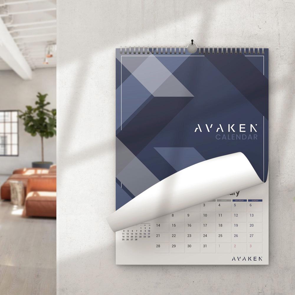 Calendar Wall 2022