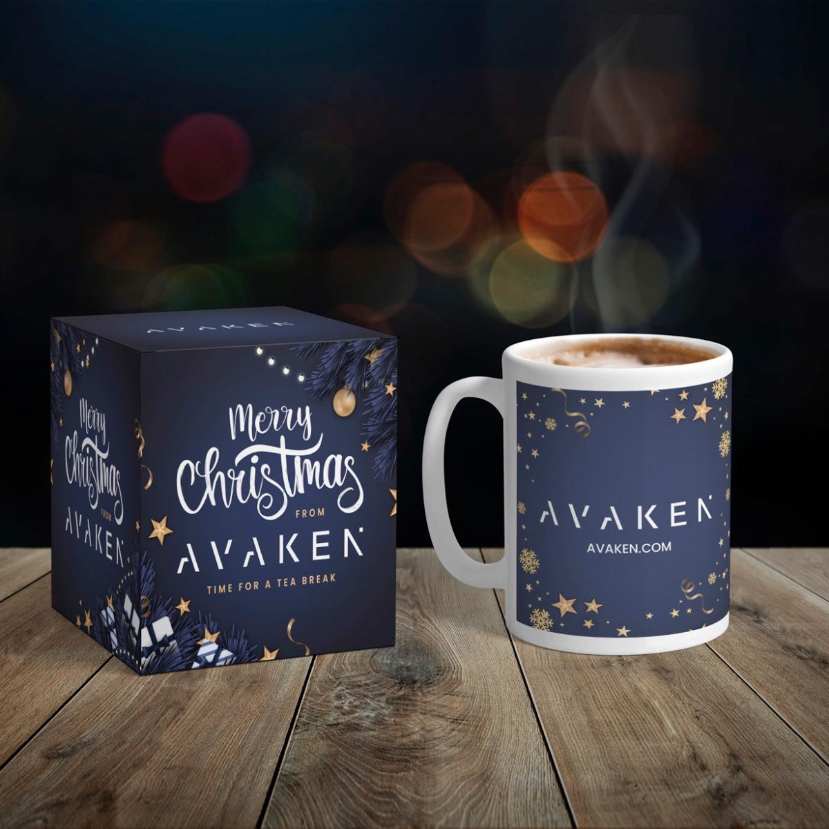 Christmas Coffee Mug Box