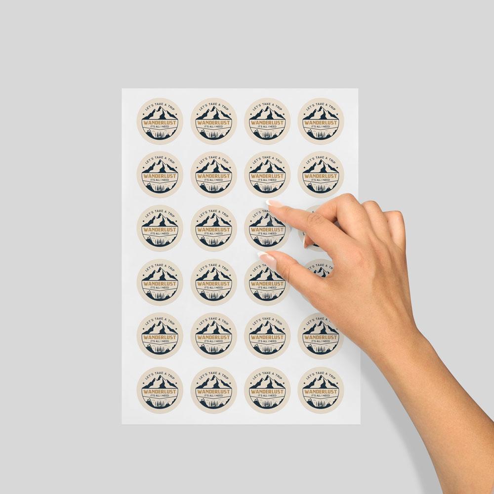 Sticker Sheets - Round