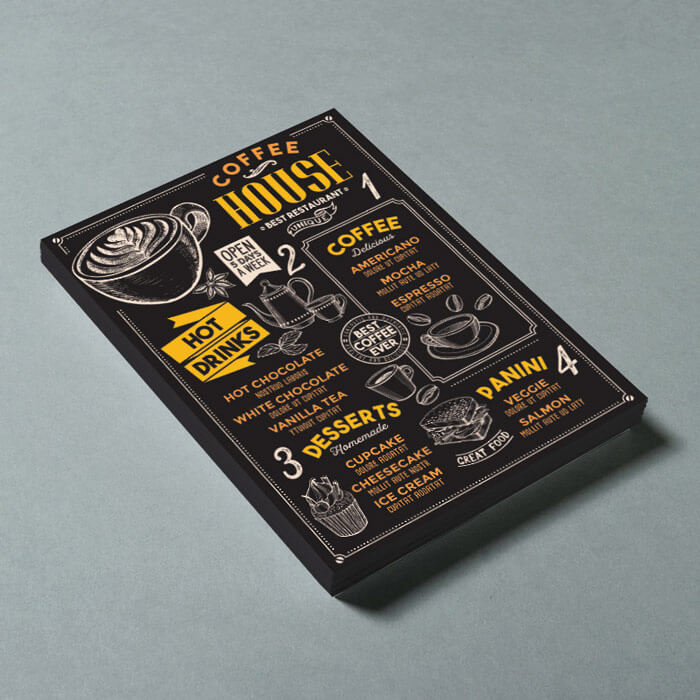 450gsm Soft Touch Flyer