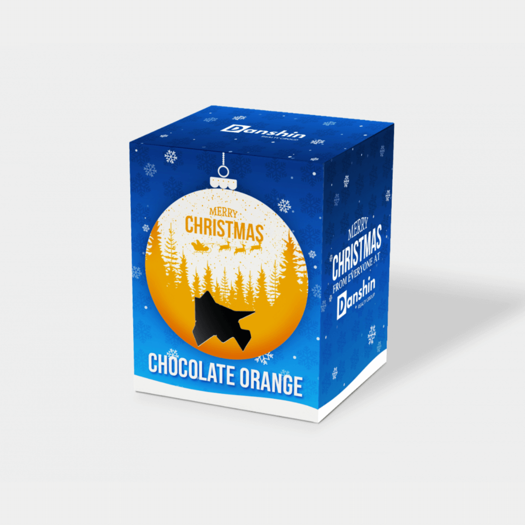 Branded Chocolate Orange Boxes