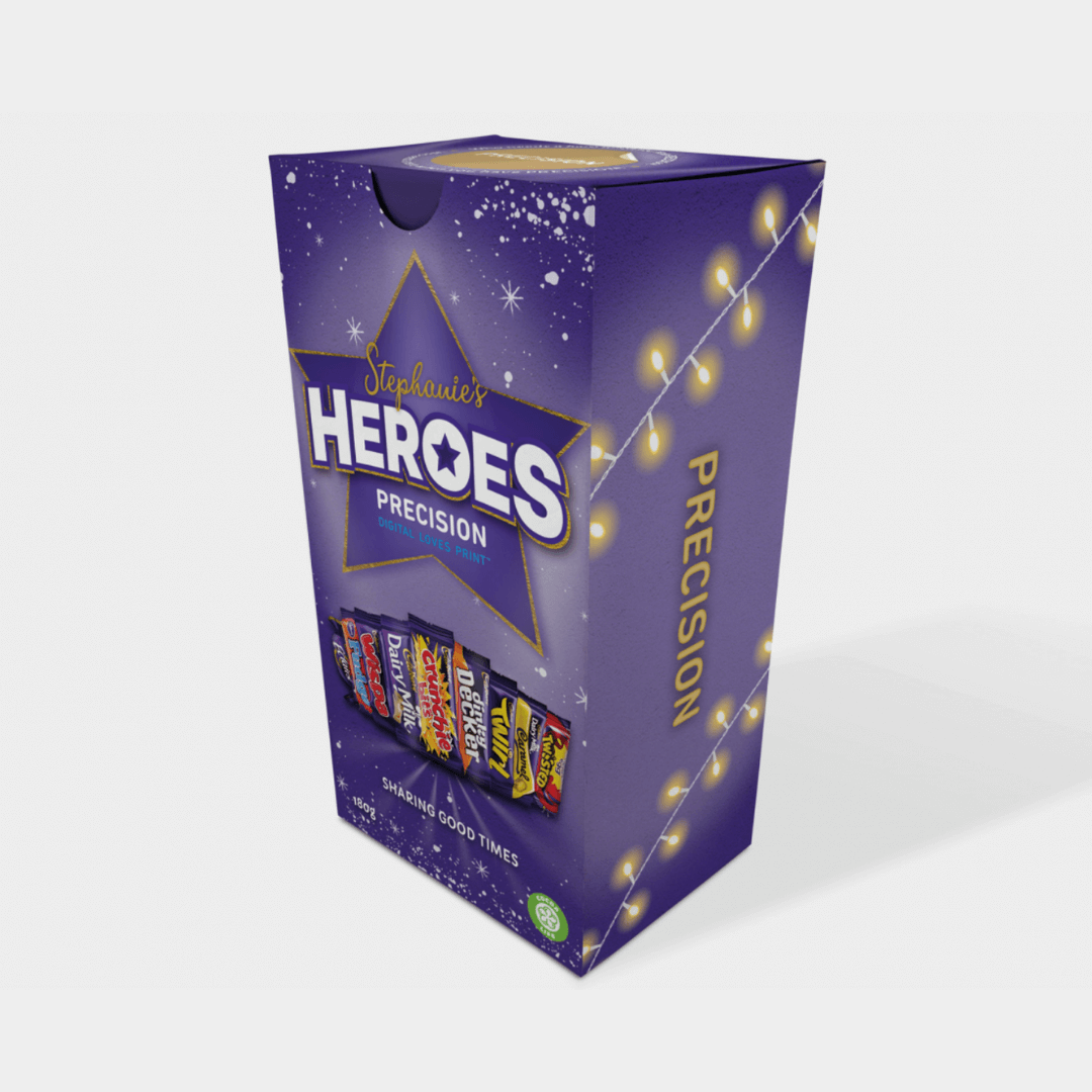 Branded Chocolate Heroes Boxes