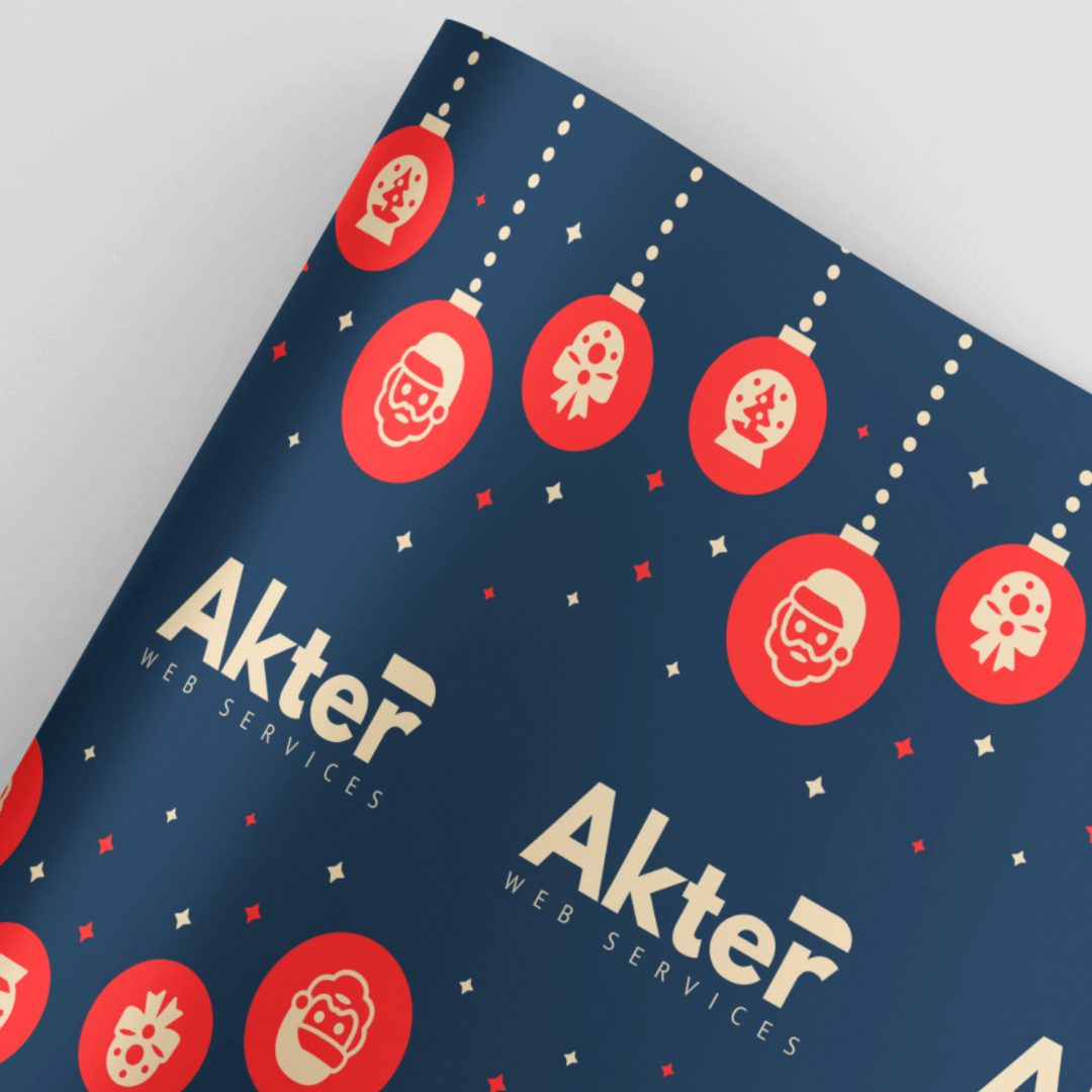 Customised Gift Wrap