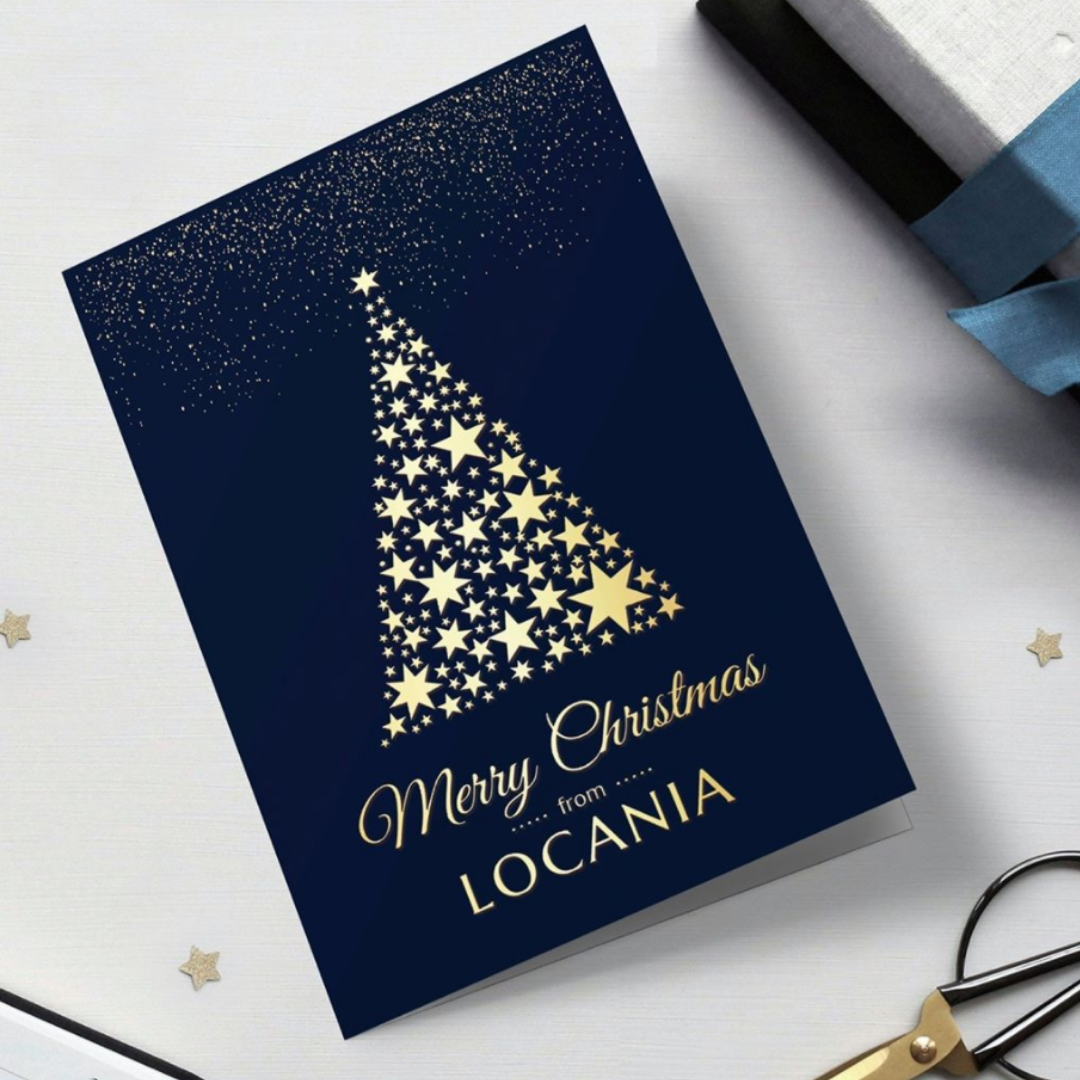 Bespoke Christmas Card