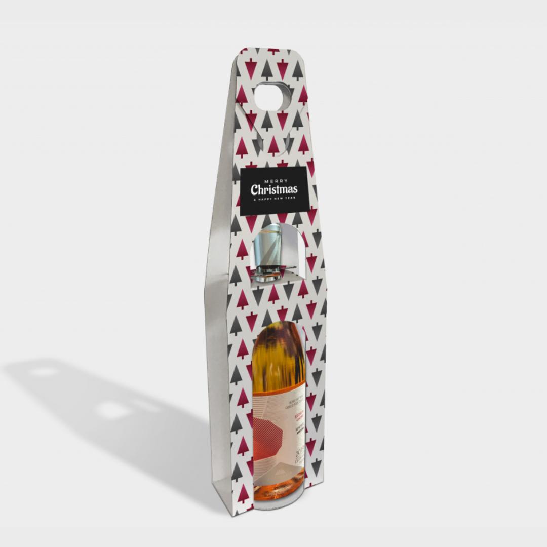 Branded Wine Bottle Carriers