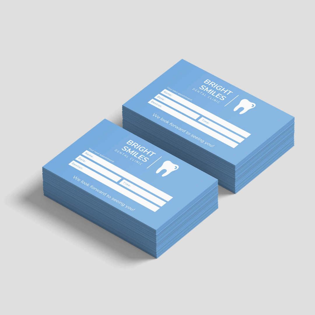 Uncoated Appointment Cards