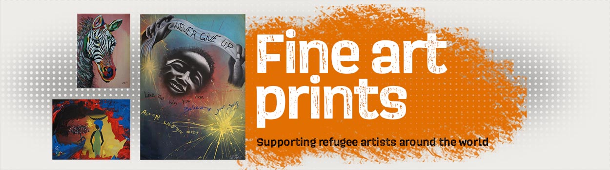 Supporting refugee artists