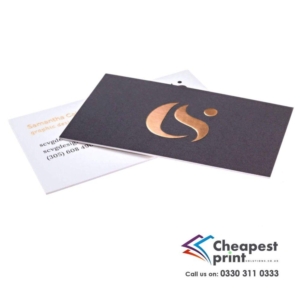 3d Foil Business Cards