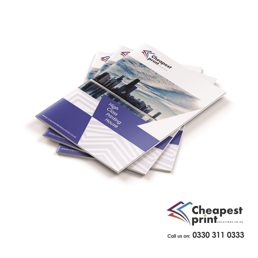 A4 Saddle Stitched Booklets