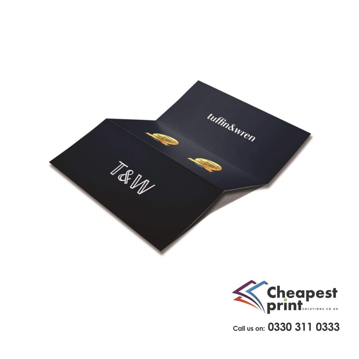 Flat Creased Leaflets