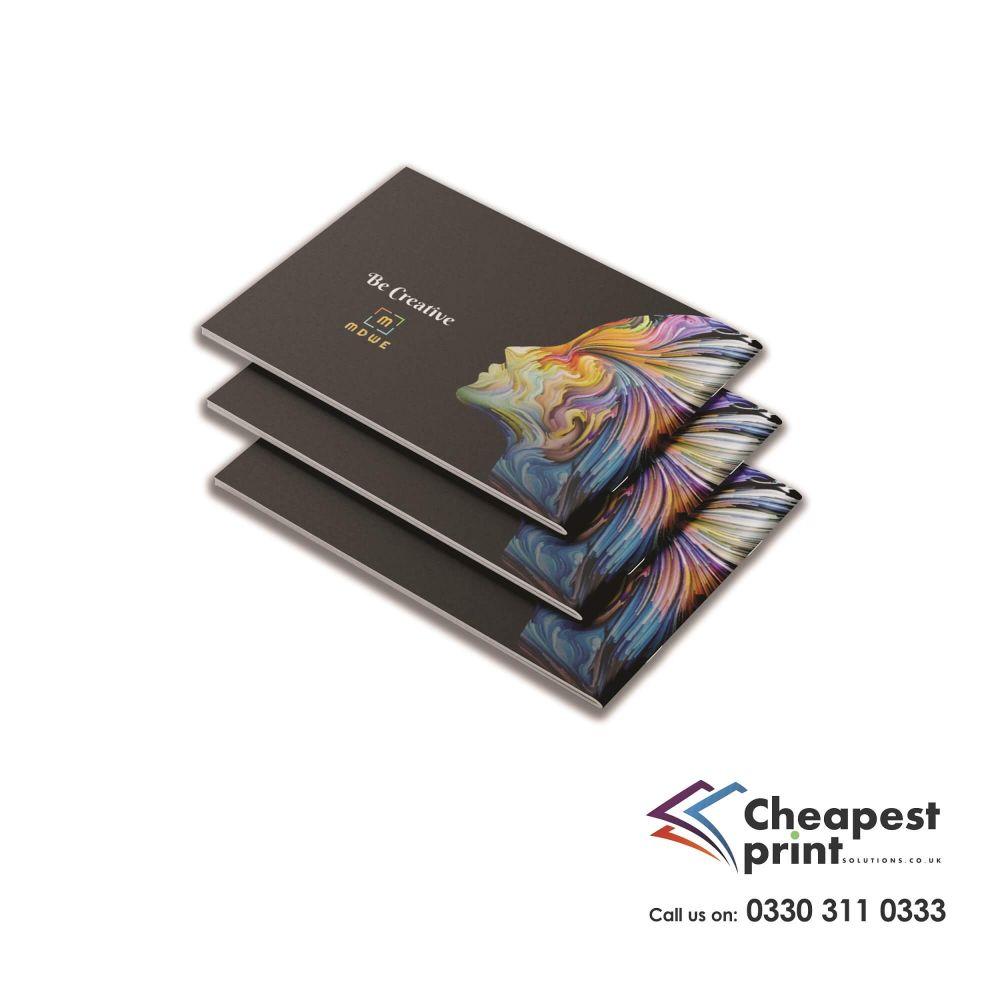 Landscape Saddle Stitched Booklets