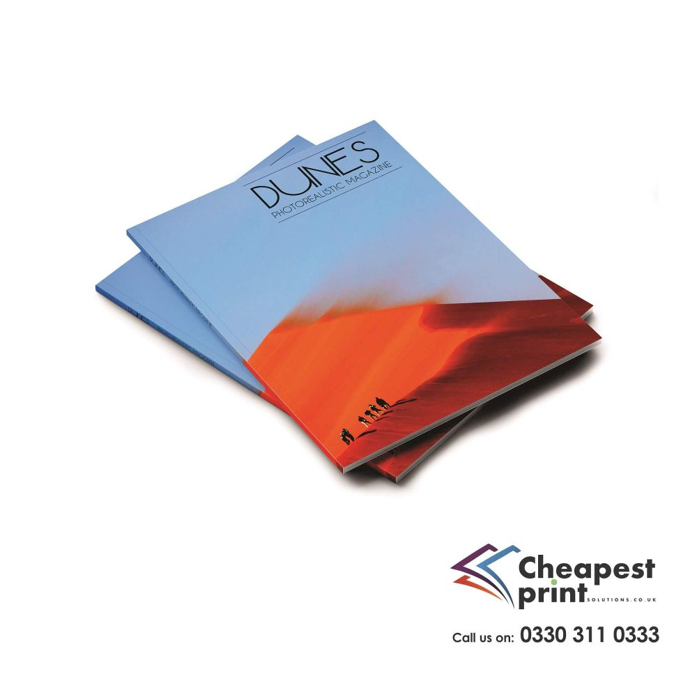 Perfect Bound Booklets