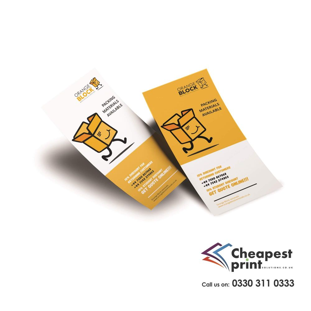 Uncoated Flyers