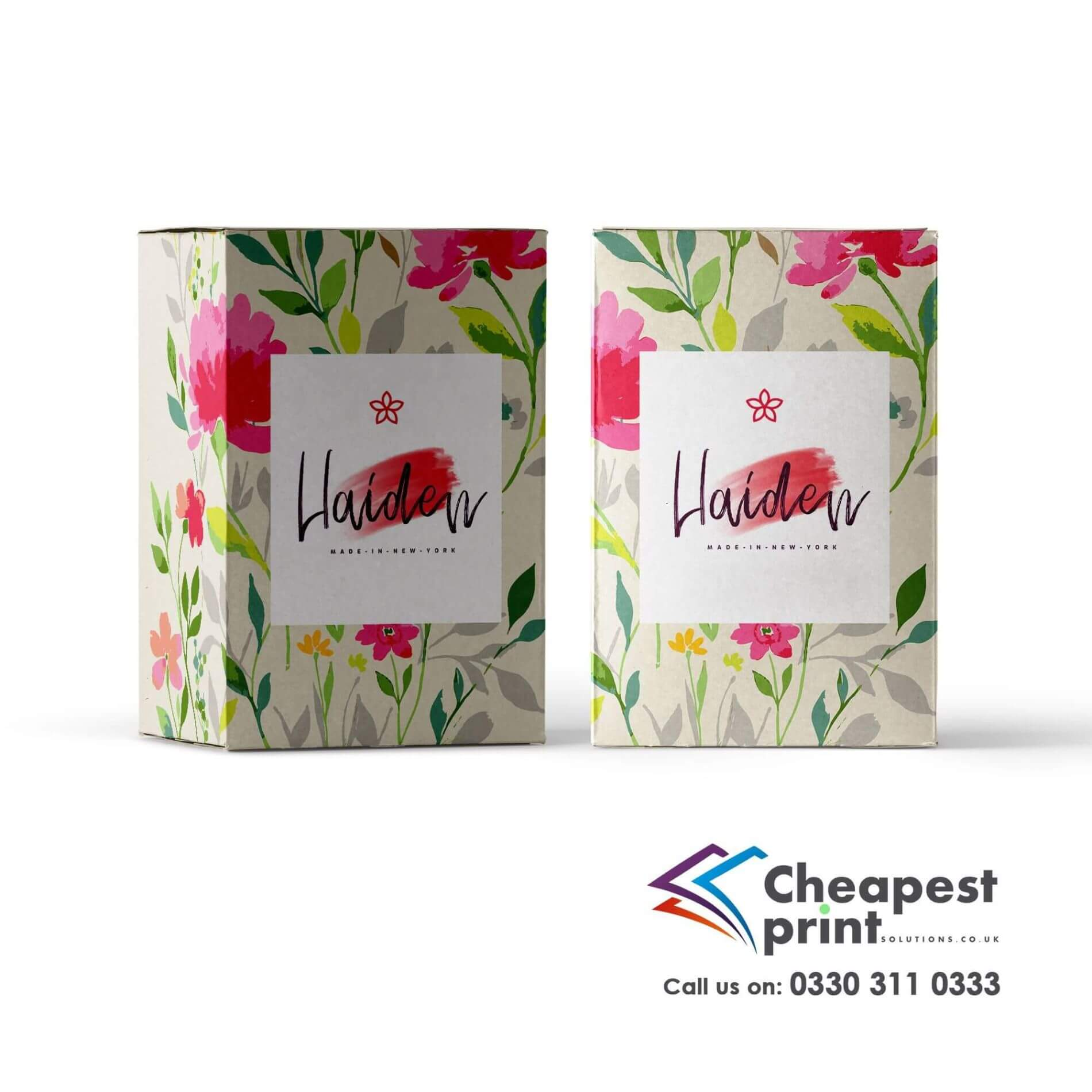 Printed Promotional Boxes