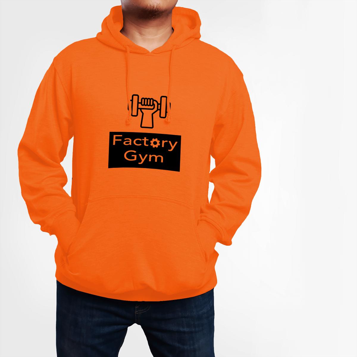 Custom Printed Hoodie - Gym