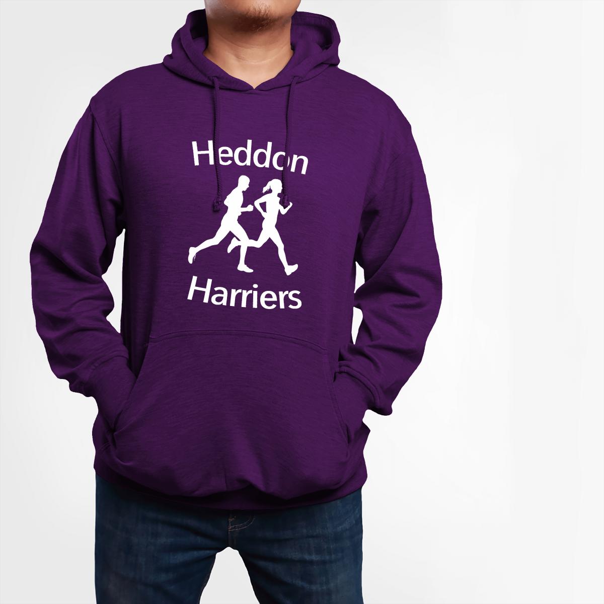 Custom Printed Hoodie - Harriers