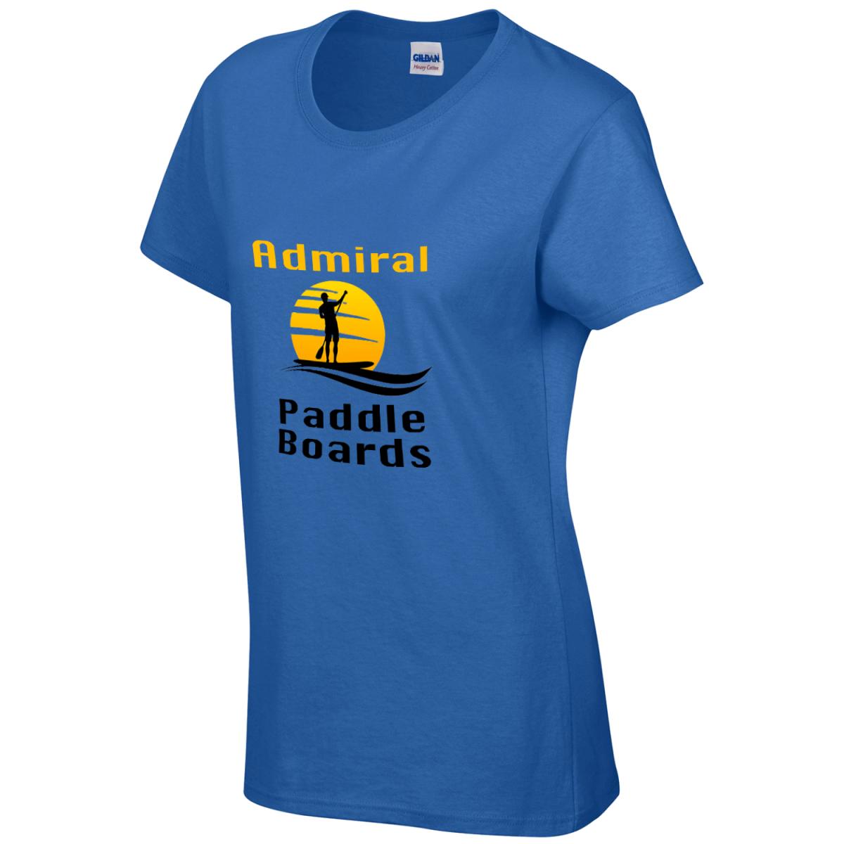 Custom Printed T-Shirt - Side Shot - Paddle Board