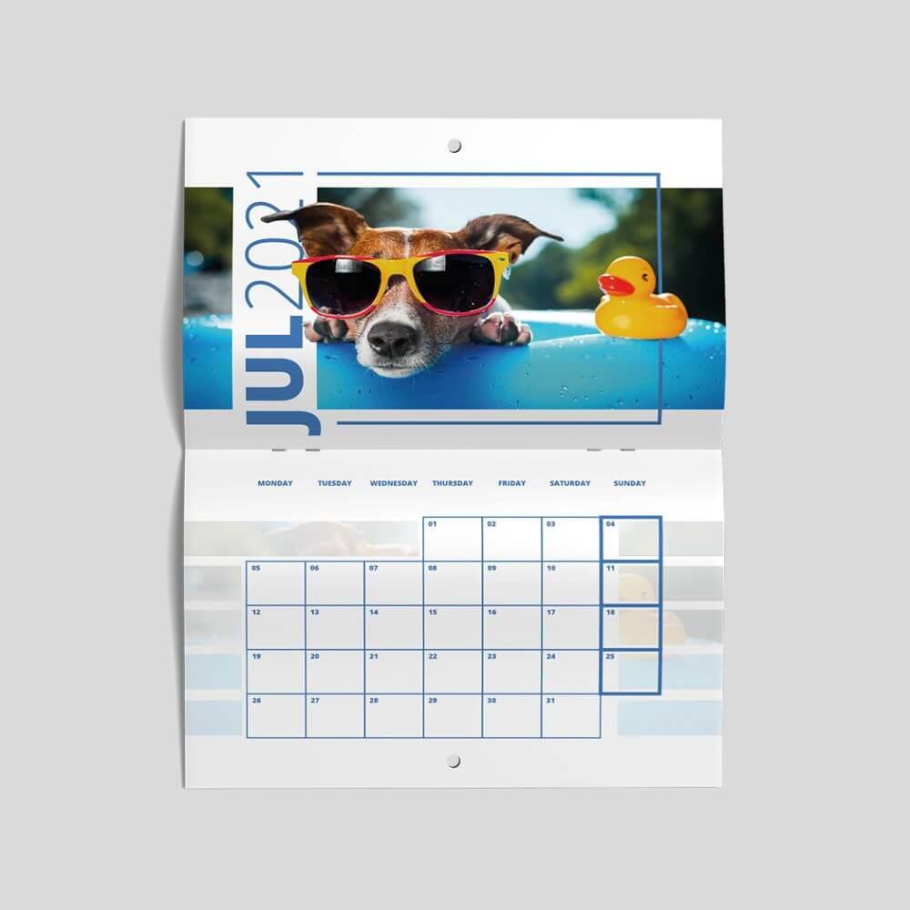 Drilled Hole Calendar