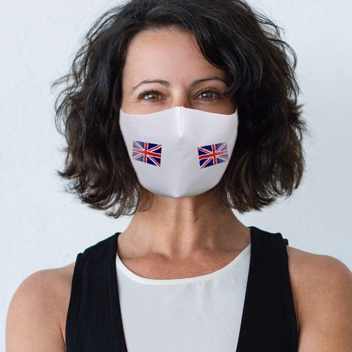 Fabric Mask - Union Jack