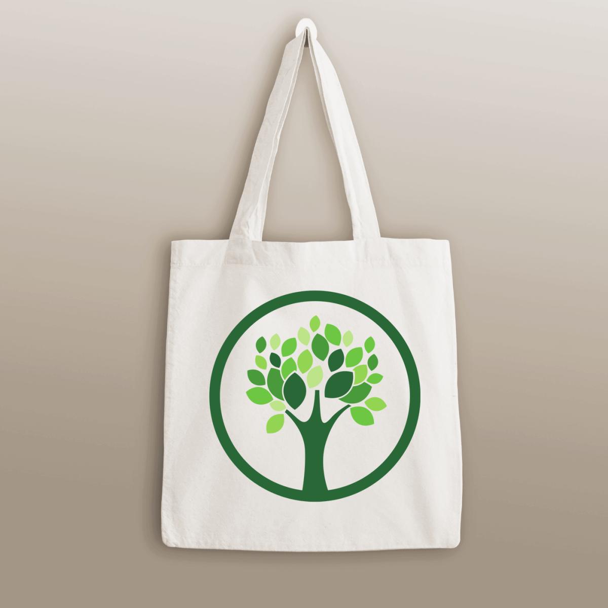 Tote Bags - Green Tree
