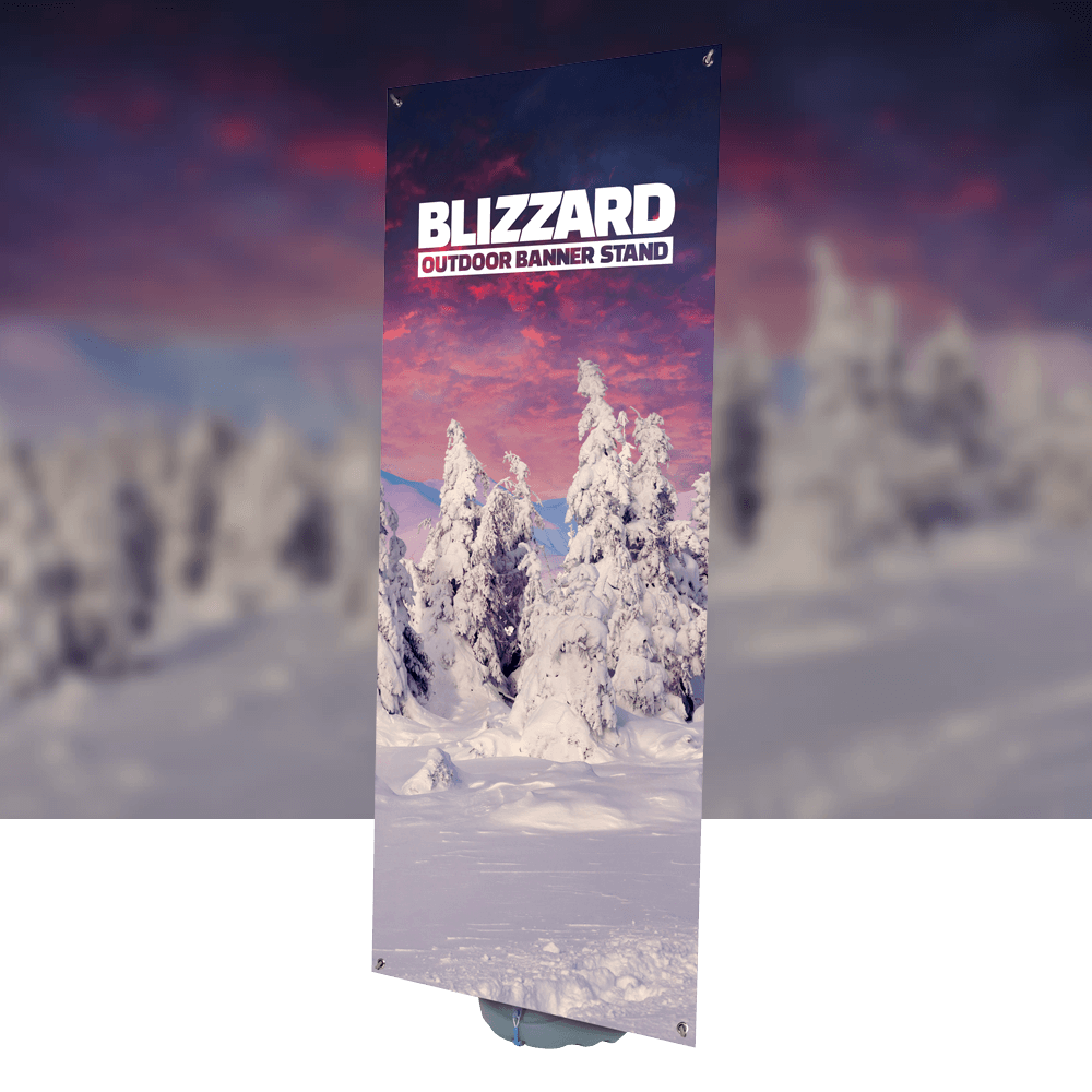 Blizzard product image with background