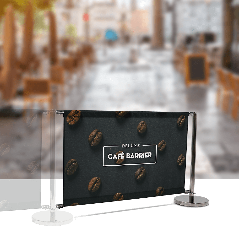 Cafe-Barrier Deluxe 1500 Single-Sided Extension
